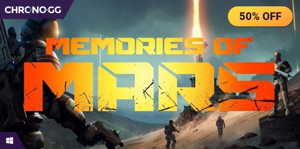 [Chrono.gg] MEMORIES OF MARS ($9.99 / 50% off)