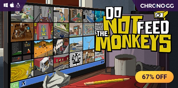[Chrono.gg] Do Not Feed the Monkeys ($3.99 / 67% off)