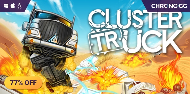 [Chrono.gg] Clustertruck ($3.50 / 77% off) #PCGames